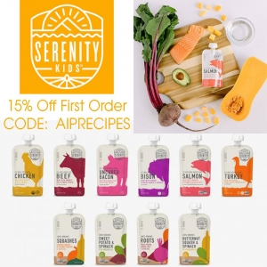 Serenity Kids Product Review, Serenity Kids Organic Baby Food, Paleo, AIP, AIPRecipeCollection.com