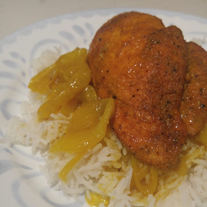 AIP Honey Curry Chicken Breast - aiprecipecollection.com