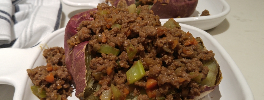 AIP Sloppy Joes - Sloppy Topped Sweet Potoates - KC Natural AIPRecipecollection.com